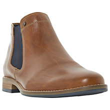 Buy Dune Chicago Chelsea Boots, Tan Online at johnlewis.com