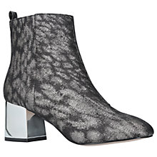 Buy Miss KG Tilly Block Heeled Ankle Boots, Gunmetal Online at johnlewis.com
