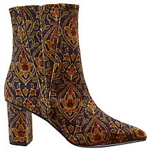 Buy Jigsaw Neilson Heeled Ankle Boots, Multi Online at johnlewis.com