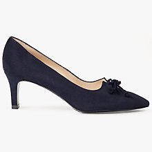 Buy Peter Kaiser Mizzy Kitten Heel Bow Court Shoes Online at johnlewis.com