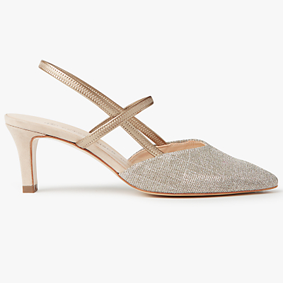 Peter Kaiser Mitty Slingback Court Shoes, Sand