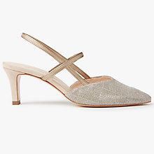 Buy Peter Kaiser Mitty Slingback Court Shoes, Sand Online at johnlewis.com