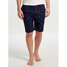 Buy Polo Ralph Lauren Allover Pony Lounge Shorts, Navy Online at johnlewis.com