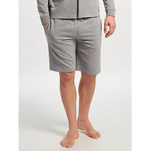 Buy Polo Ralph Lauren Loopback Cotton Lounge Shorts, Grey Online at johnlewis.com