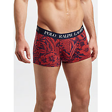 Buy Polo Ralph Lauren Tropical Print Trunks Online at johnlewis.com