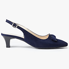 Buy Peter Kaiser Sonia Mid Kitten Heel Slingback Court Shoes Online at johnlewis.com
