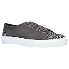 Buy Carvela Maze 2 Lace Up Trainers, Grey Online at johnlewis.com