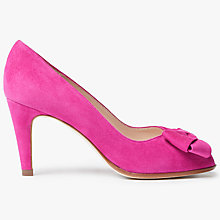 Buy Peter Kaiser Stila Suede Bow Court Shoes Online at johnlewis.com