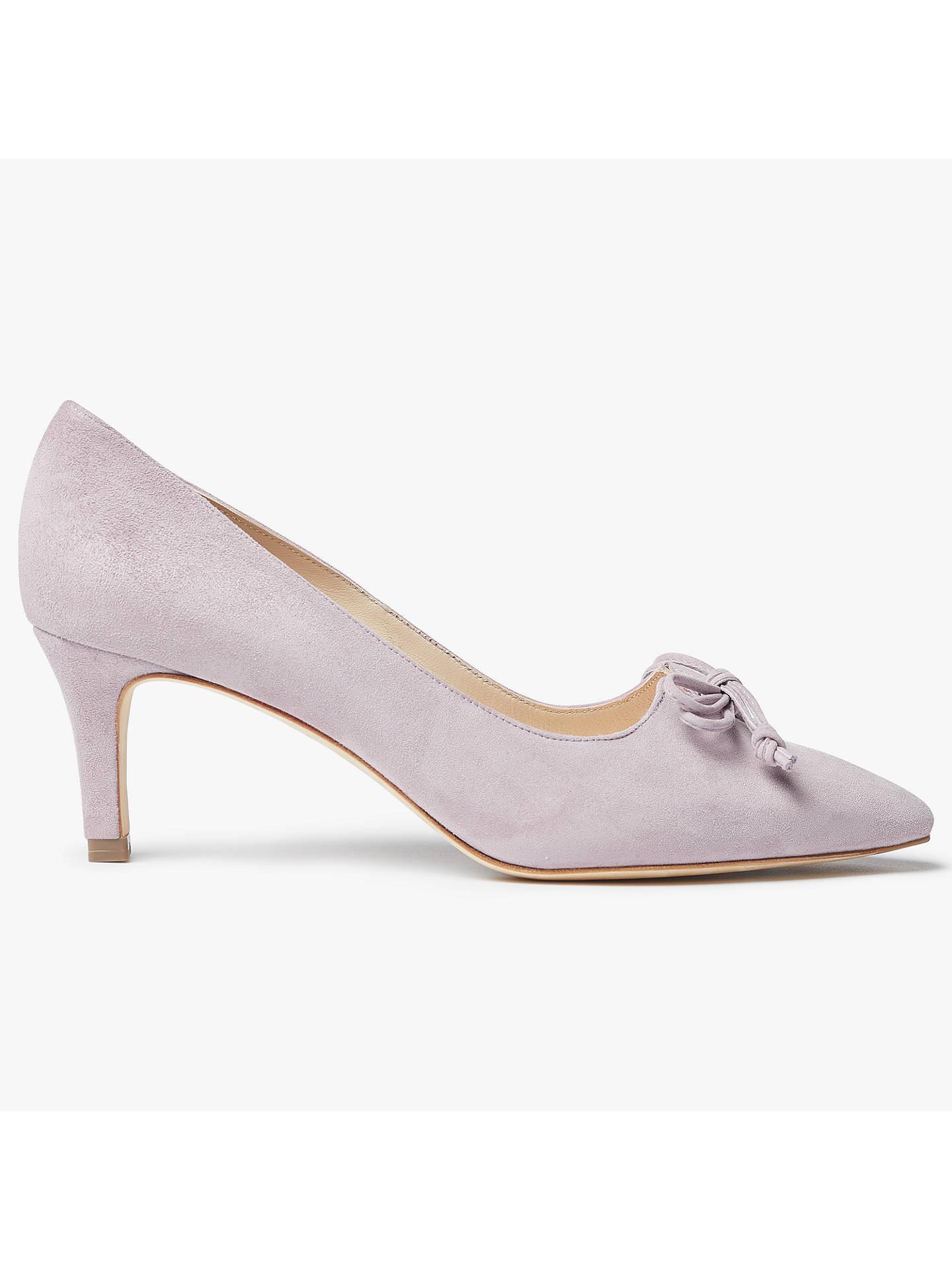 Jigsaw Gail Suede Court Shoe Womens New Pink Dusky Pink