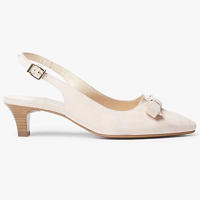 Peter Kaiser Sonia Mid Kitten Heel Slingback Court Shoes