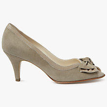 Buy Peter Kaiser Satyr Suede Lizard Trim Court Shoes Online at johnlewis.com