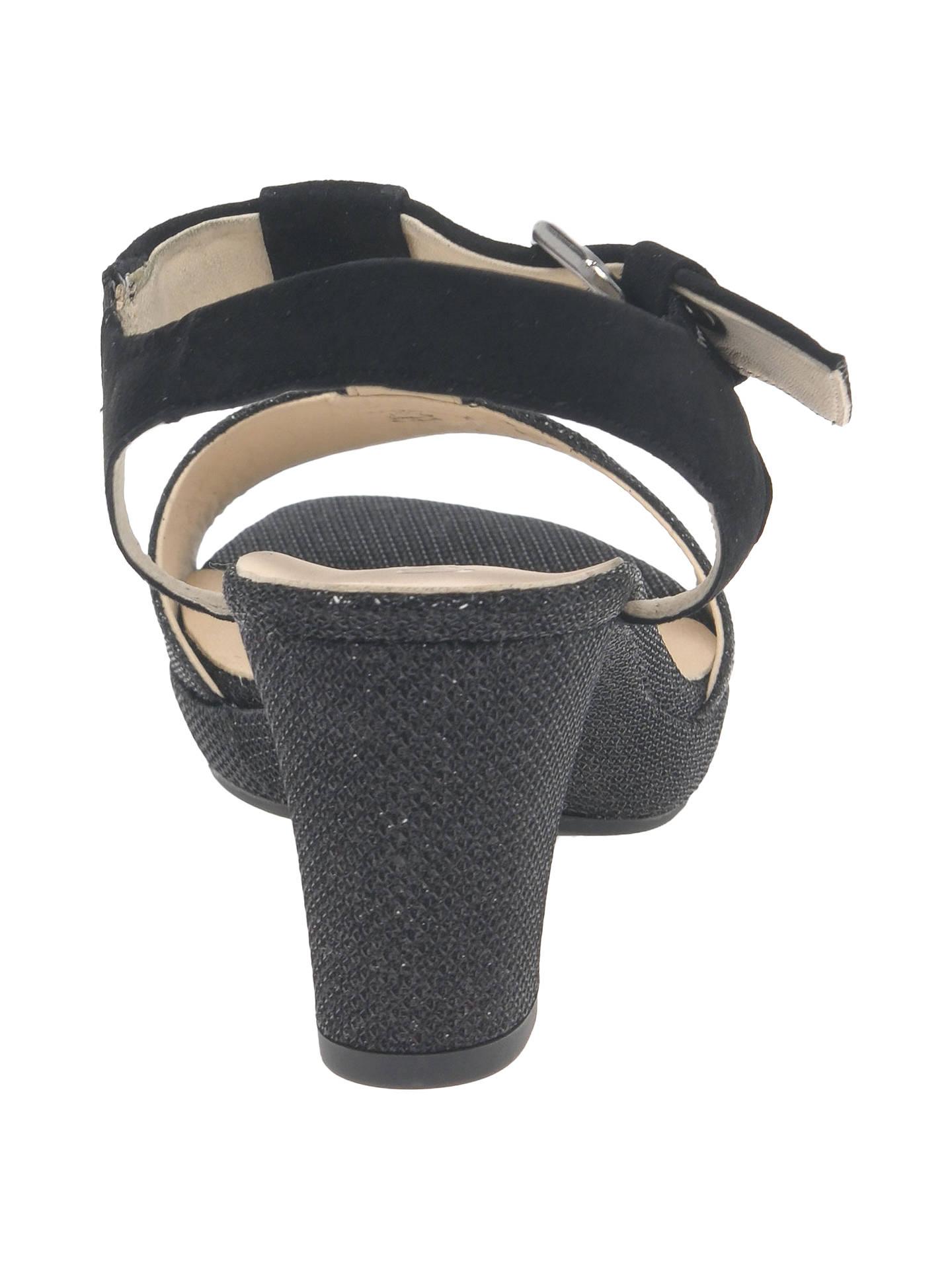 f863fdbea04 ... Buy Gabor Clover Wide Fit Block Heeled Sandals