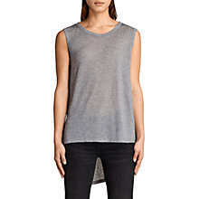 Buy AllSaints Zita Jersey Top Online at johnlewis.com