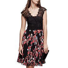 Buy Reiss Haven Lace Burn Out Dress, Multi Online at johnlewis.com