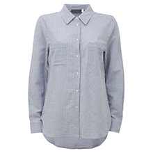 Buy Mint Velvet Mixed Stripe Shirt, Multi Online at johnlewis.com
