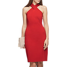 Buy Reiss Zaira Wrap Neck Bodycon Dress Online at johnlewis.com