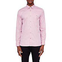 Buy Ted Baker T For Tall Ifel Cotton Shirt Online at johnlewis.com