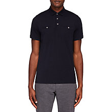 Buy Ted Baker Shaz Polo Shirt, Navy Online at johnlewis.com