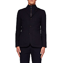Buy Ted Baker Roy Jersey Jacket, Navy Online at johnlewis.com