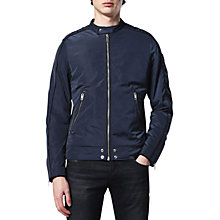 Buy Diesel J-Quad Racer Jacket, Total Eclipse Online at johnlewis.com
