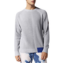Buy Diesel Sami K-Stats Block Colour Jumper, Grey Online at johnlewis.com