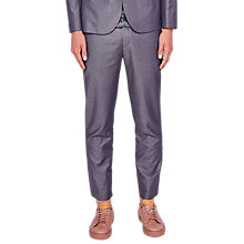Buy Ted Baker Nutro Tailored Trousers, Blue Online at johnlewis.com
