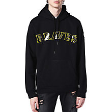 Buy Diesel S-Braves Hoodie, Black Online at johnlewis.com