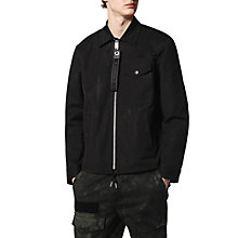 Buy Diesel J-Plaza Jacket, Black Online at johnlewis.com