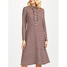 Buy People Tree Allegra Apple Shirt Dress, Red Online at johnlewis.com