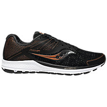 Buy Saucony Ride 10 Men's Running Shoes, Black/Denim/Copper Online at johnlewis.com
