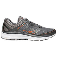 Buy Saucony Guide 10 ISO Men's Running Shoes, Grey/Denim/Copper Online at johnlewis.com