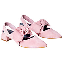 Buy Finery Lapsey Bow Court Shoes, Pink Online at johnlewis.com
