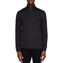 Buy Ted Baker Dotkot Funnel Neck Zip Jumper Online at johnlewis.com