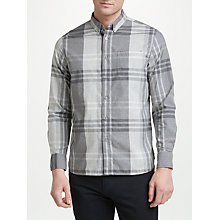 Buy Penfield Idlton Poplin Check Shirt, Grey Online at johnlewis.com