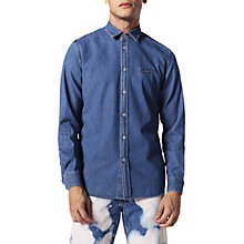 Buy Diesel D-Berry Shirt, Blue Online at johnlewis.com