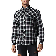 Buy Diesel S-Planet Shirt, Green Online at johnlewis.com
