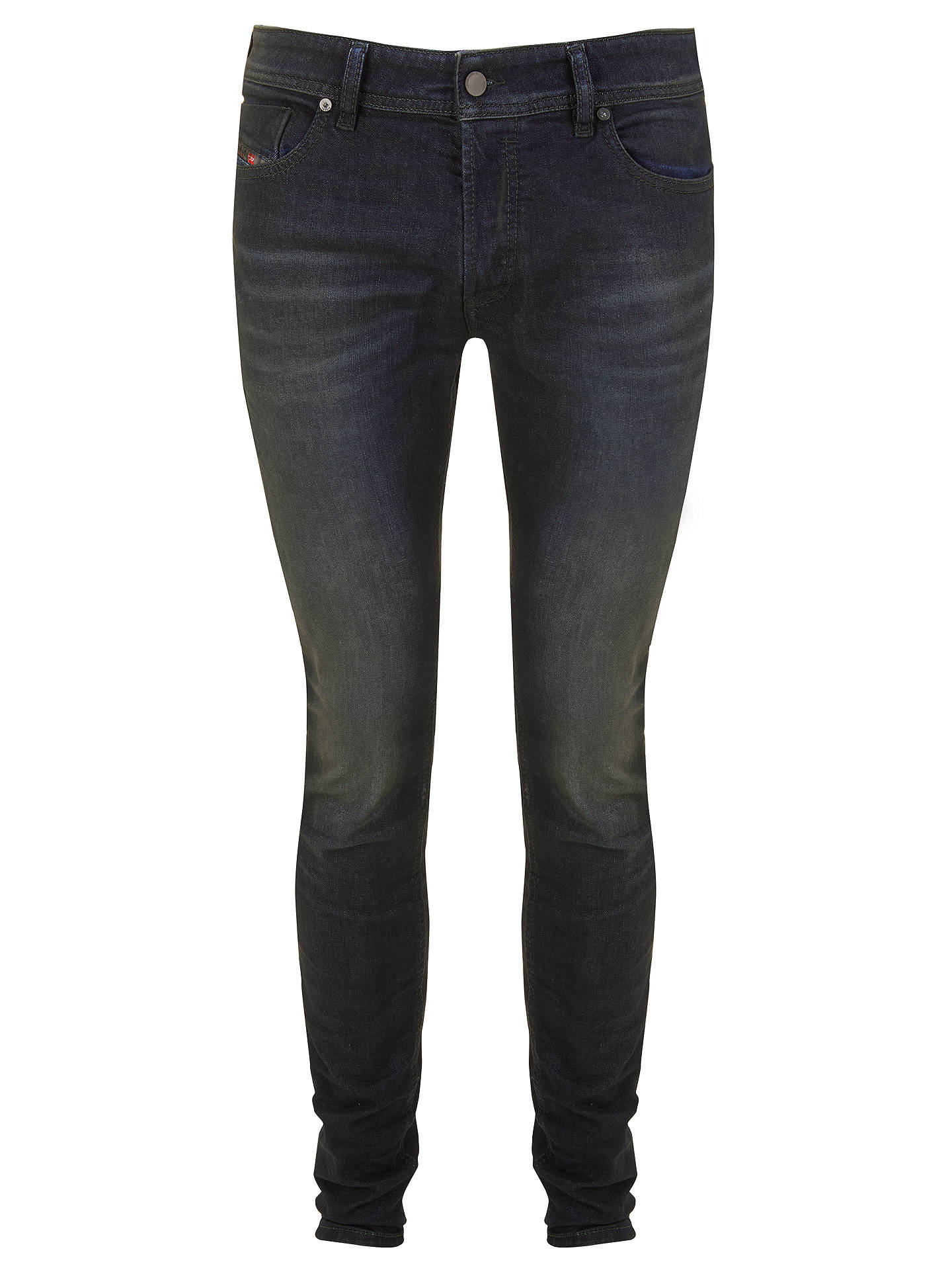 BuyDiesel Sleenker Skinny Jeans, Dark Blue 0842Q, 30S Online at johnlewis.com