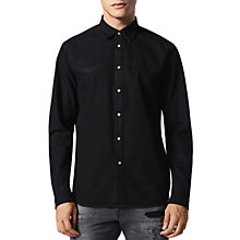 Buy Diesel D-Planet Shirt, Black Online at johnlewis.com
