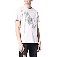 Buy Diesel T-Just T-Shirt, Off White Online at johnlewis.com