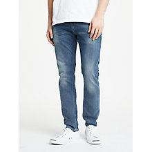 Buy Diesel Thommer Skinny Fit Stretch Jeans, Blue 084NV Online at johnlewis.com