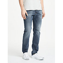 Buy Diesel Buster Tapered Jeans, Blue Online at johnlewis.com