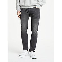 Buy Diesel Thommer Skinny Fit Stretch Jeans, Grey 0687J Online at johnlewis.com