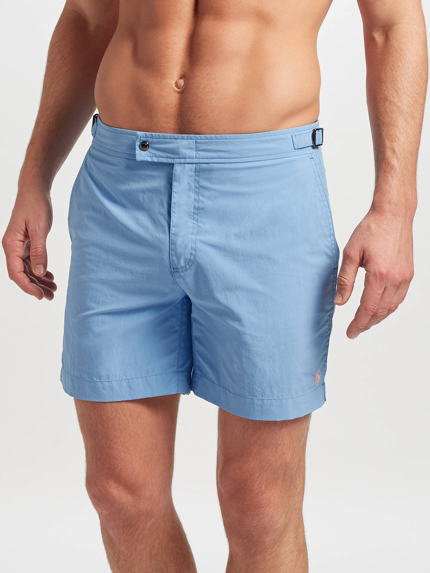 8c15835bd0 Buy Polo Ralph Lauren Monaco Swim Shorts, Chatham Blue, 30 Online at  johnlewis.