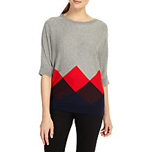 Buy Phase Eight Angeletta Argyle Knitted Jumper, Multicoloured Online at johnlewis.com