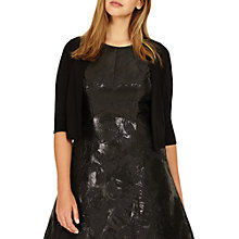 Buy Studio 8 Charlize Cropped Cover Up Blazer, Black Online at johnlewis.com