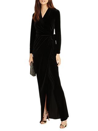 f374a6e7db0 Phase Eight Valeria Velvet Maxi Dress