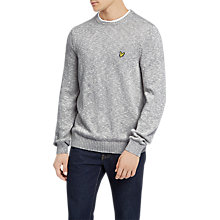 Buy Lyle & Scott Mottled Round Neck Jumper Online at johnlewis.com
