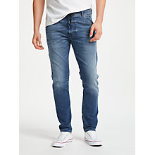 Buy Diesel Krooley R Carrot Jogg Jeans, Blue 0687C Online at johnlewis.com