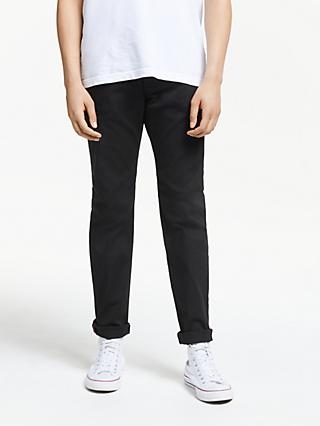Diesel Larkee-Beex Regular Tapered Dark Denim Jeans, Black