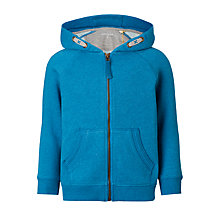 Buy John Lewis Boys' Ribbed Panel Hoodie Online at johnlewis.com